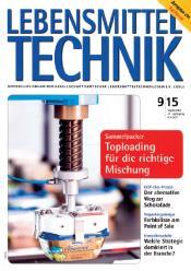 Artikel aus LEBENSMITTELTECHNIK  09-2015
